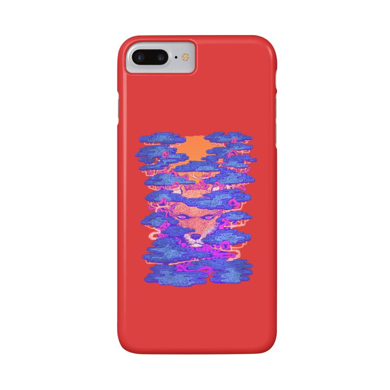 Fox in the Woods Accessories Phone Case by villainmazk's Artist Shop