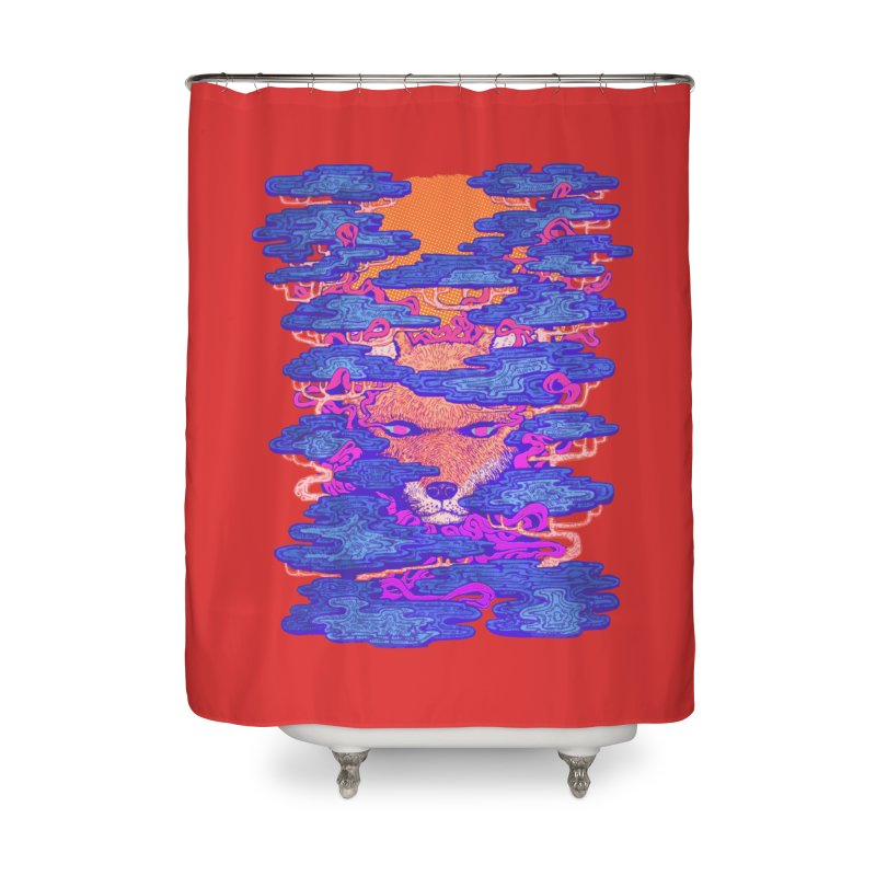 Fox in the Woods Home Shower Curtain by villainmazk's Artist Shop
