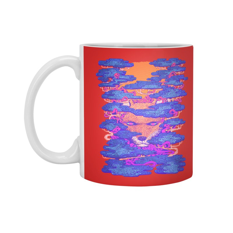 Fox in the Woods Accessories Mug by villainmazk's Artist Shop