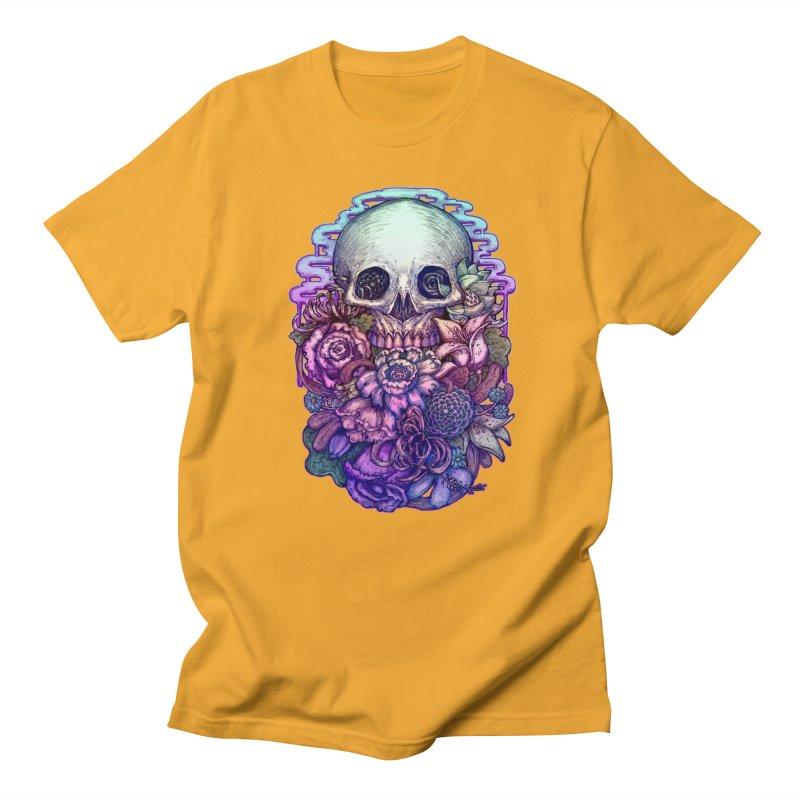 Dead and Dry flowers Men's T-Shirt by villainmazk's Artist Shop