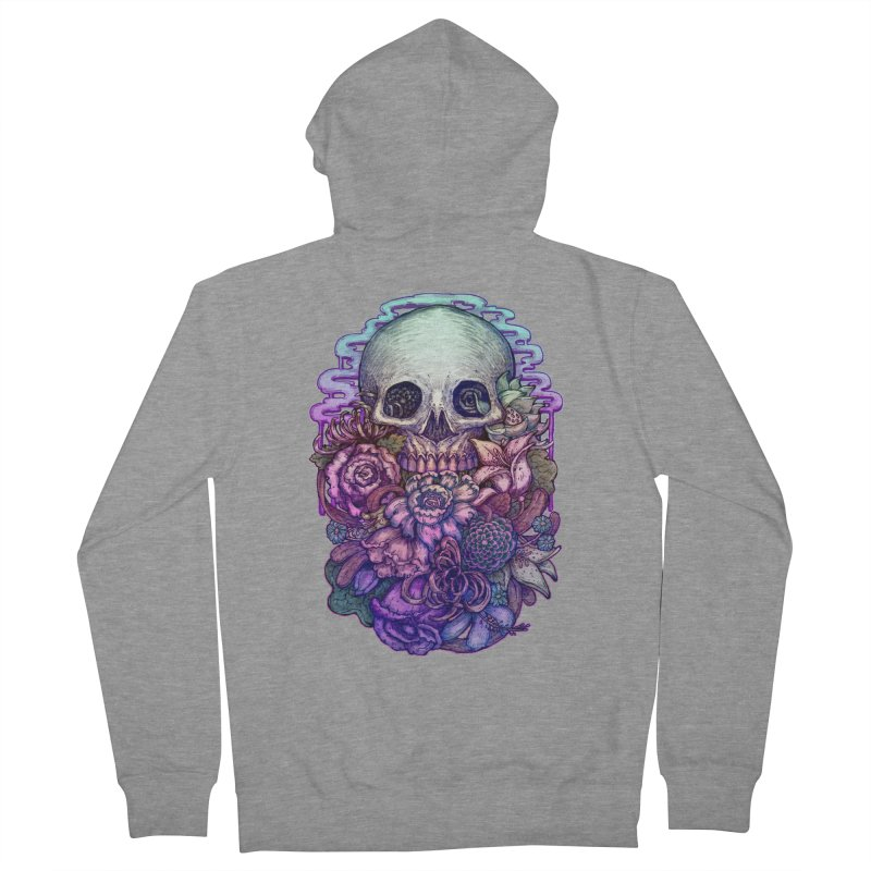 Dead and Dry flowers Women's Zip-Up Hoody by villainmazk's Artist Shop