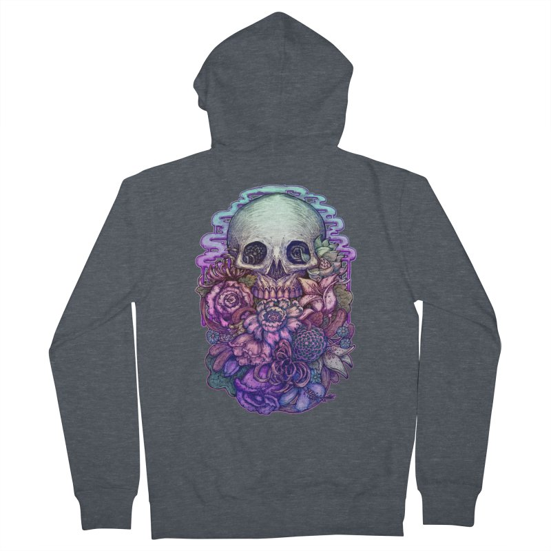 Dead and Dry flowers Men's Zip-Up Hoody by villainmazk's Artist Shop