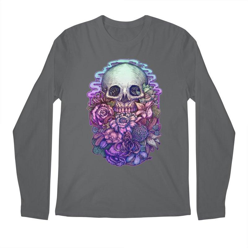Dead and Dry flowers Men's Longsleeve T-Shirt by villainmazk's Artist Shop