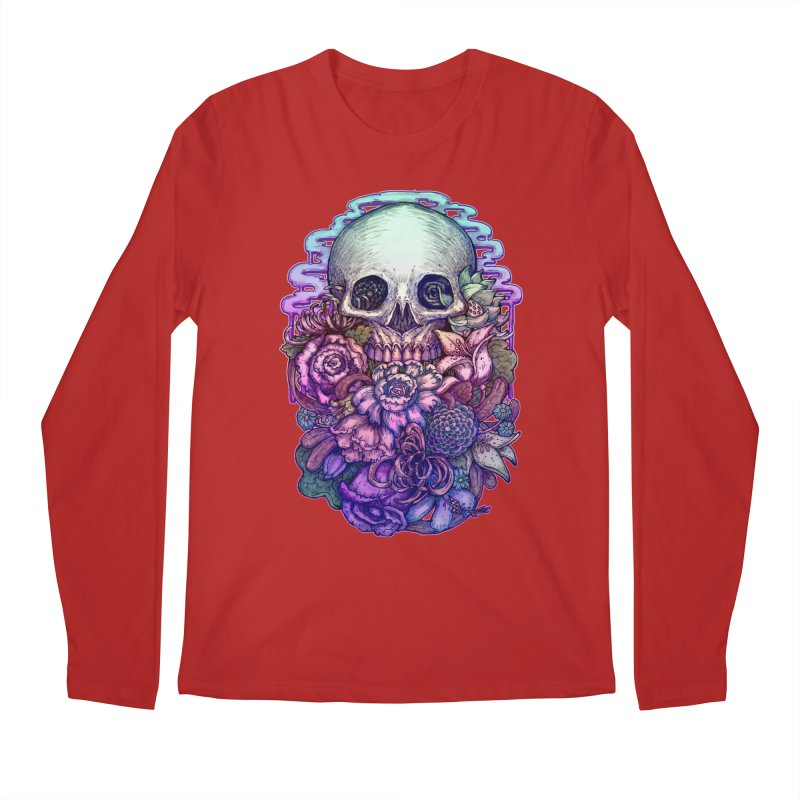 Dead and Dry flowers Men's Longsleeve T-Shirt by villainmazk's Artist Shop