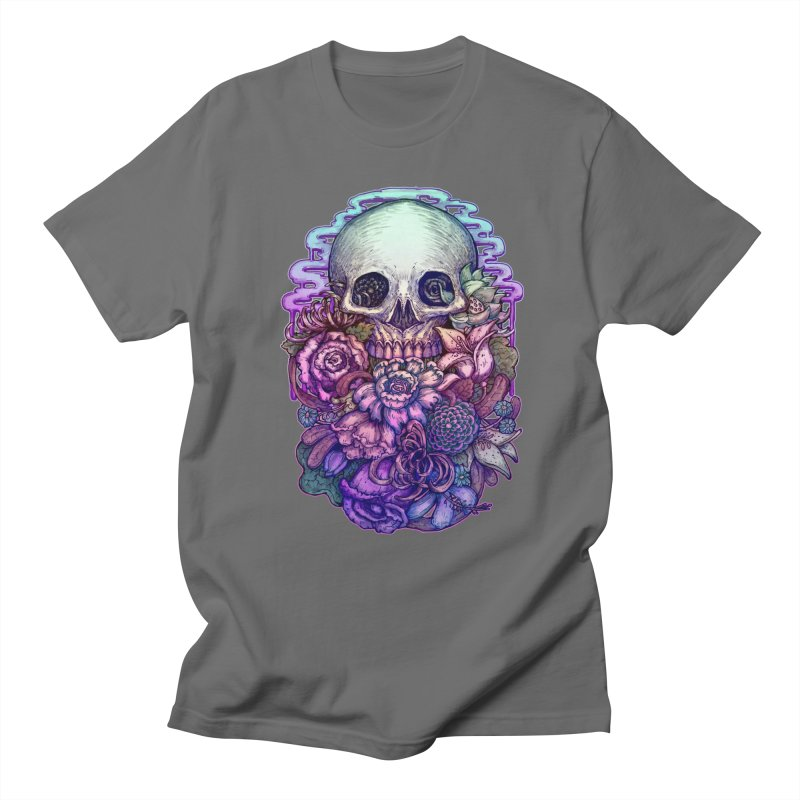 Dead and Dry flowers Men's T-Shirt by villainmazk's Artist Shop