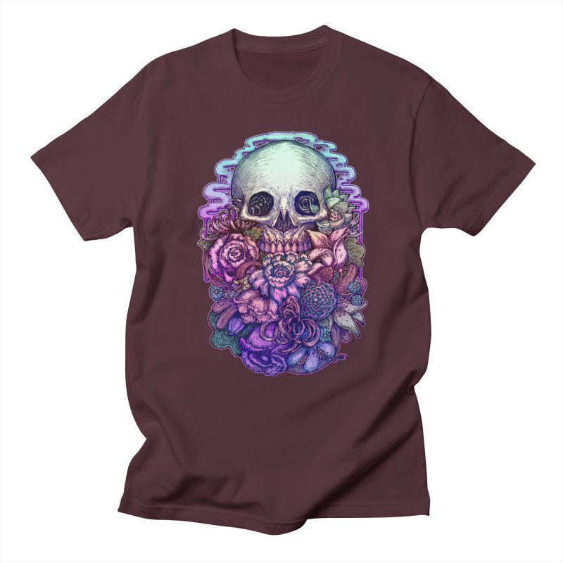 Dead and Dry flowers Women's Unisex T-Shirt by villainmazk's Artist Shop