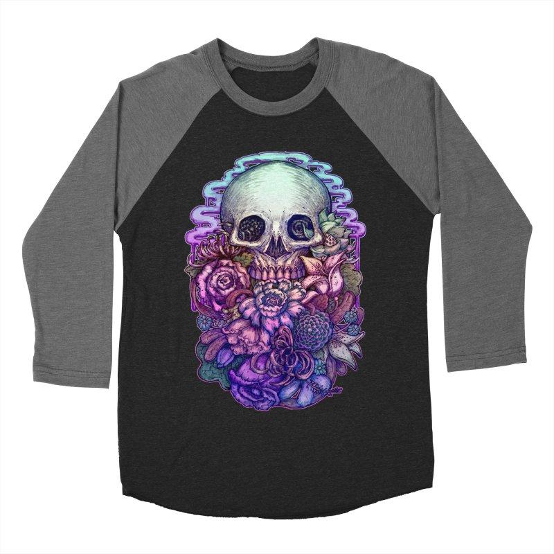Dead and Dry flowers Women's Baseball Triblend T-Shirt by villainmazk's Artist Shop