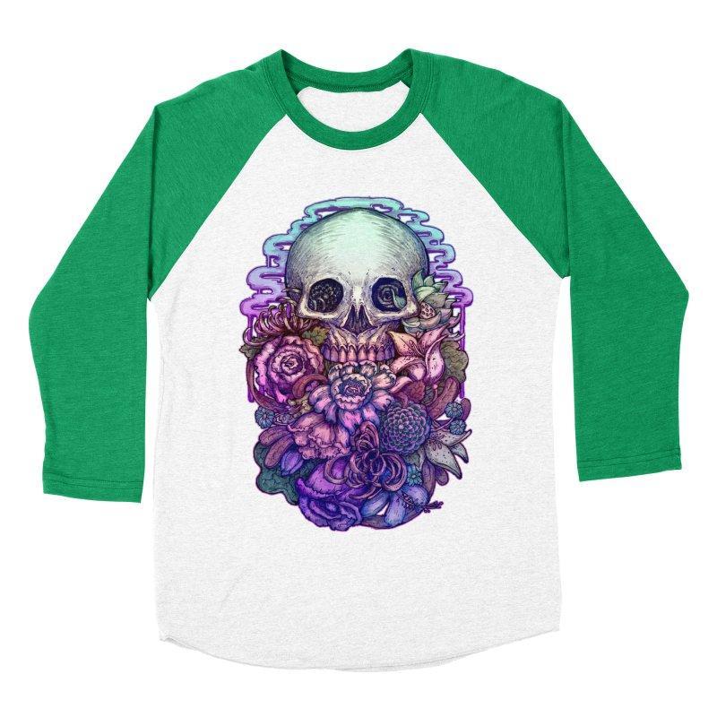 Dead and Dry flowers Men's Baseball Triblend T-Shirt by villainmazk's Artist Shop