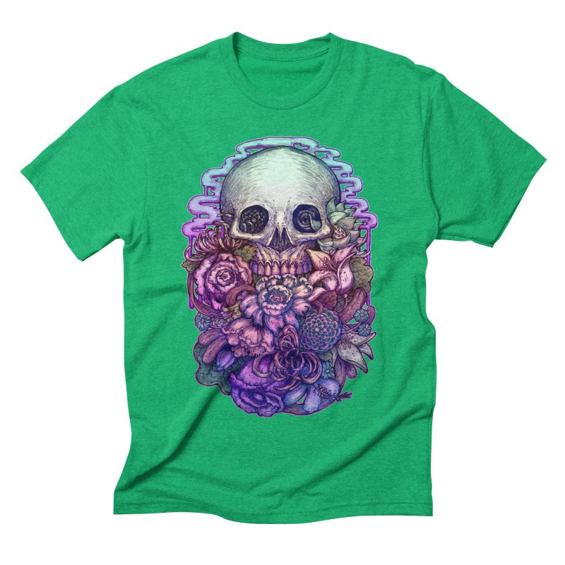 Dead and Dry flowers Men's Triblend T-shirt by villainmazk's Artist Shop