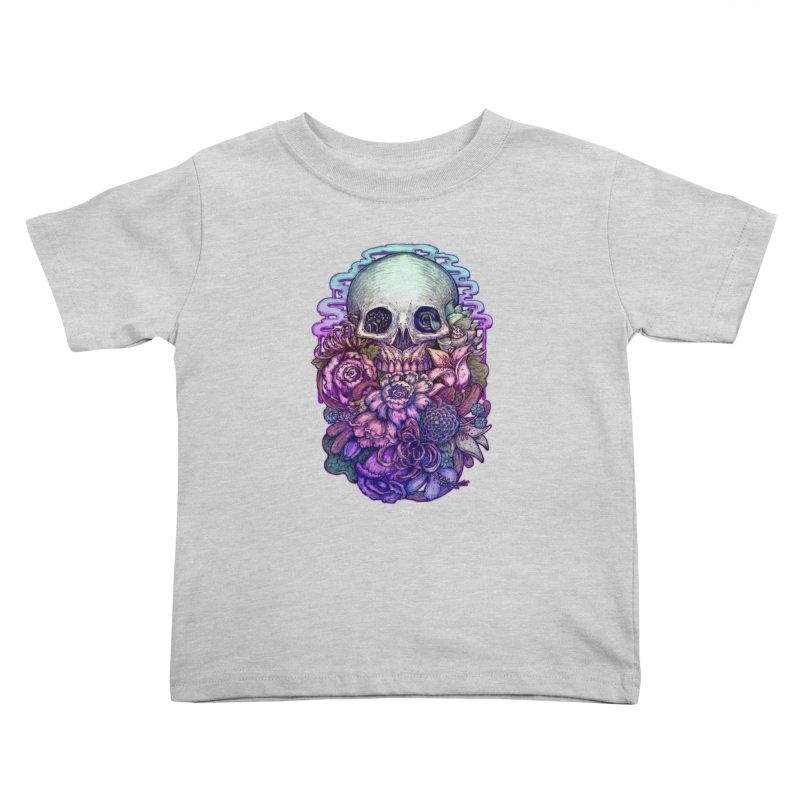 Dead and Dry flowers Kids Toddler T-Shirt by villainmazk's Artist Shop