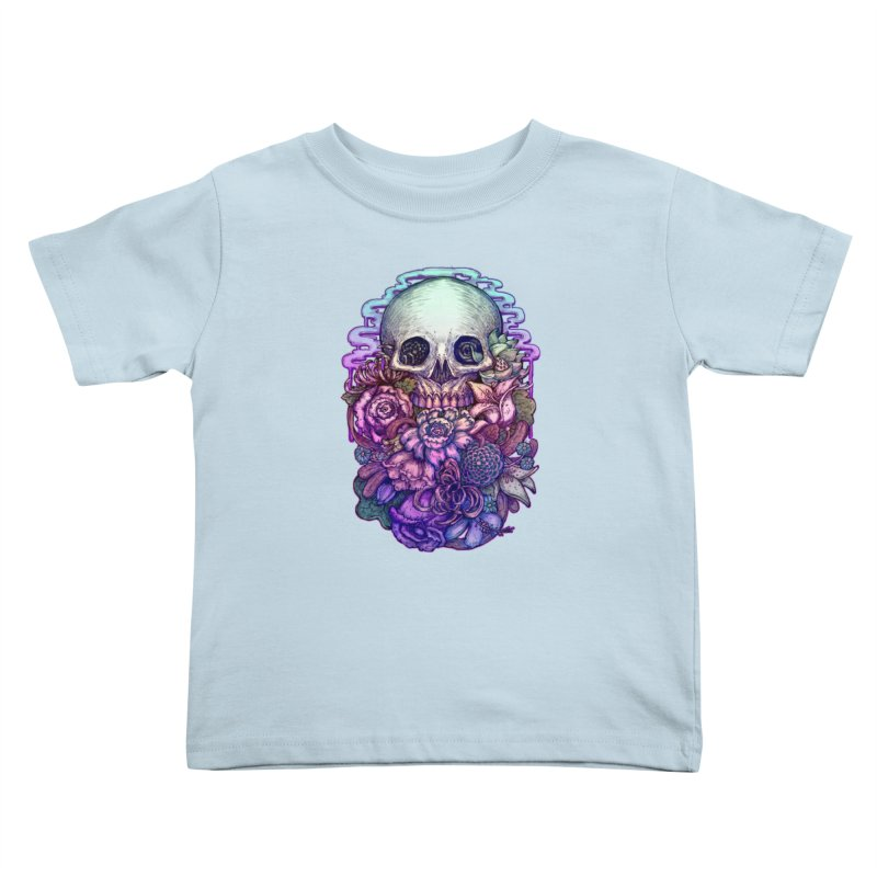 Dead and Dry flowers Kids Toddler T-Shirt by villainmazk's Artist Shop