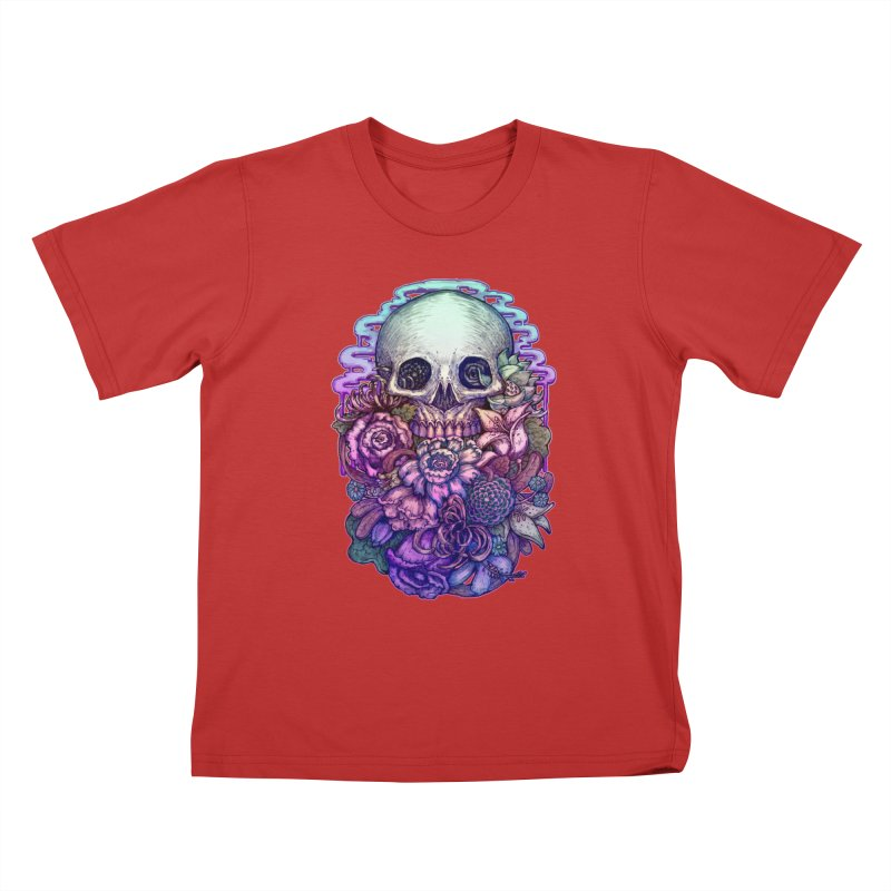 Dead and Dry flowers Kids T-shirt by villainmazk's Artist Shop