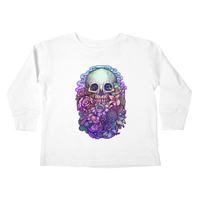 Dead and Dry flowers Kids Toddler Longsleeve T-Shirt by villainmazk's Artist Shop