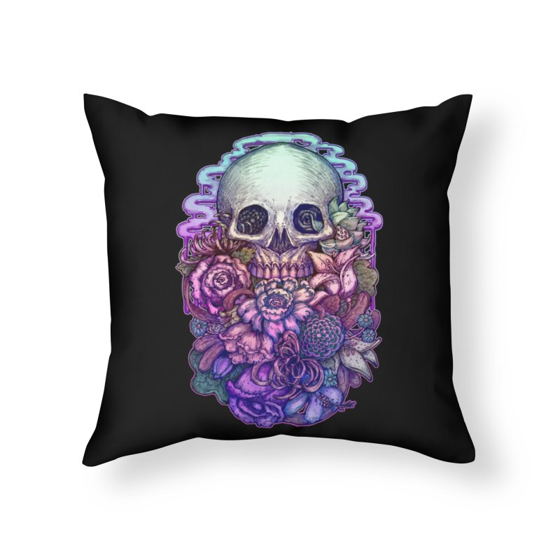 Dead and Dry flowers Home Throw Pillow by villainmazk's Artist Shop