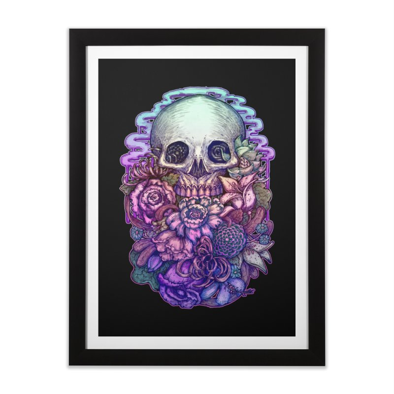 Dead and Dry flowers Home Framed Fine Art Print by villainmazk's Artist Shop