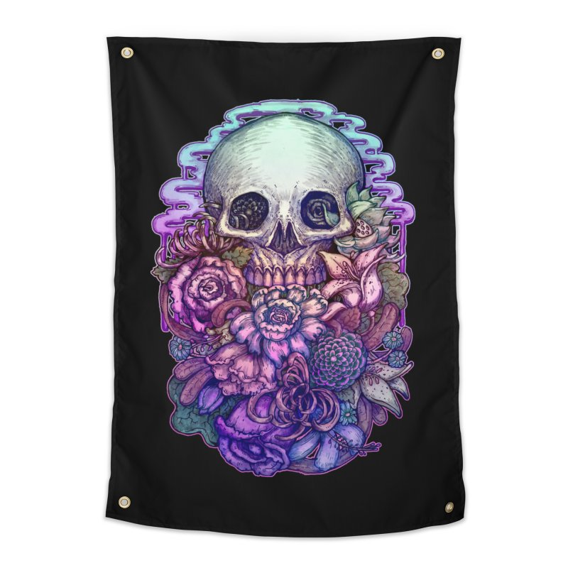 Dead and Dry flowers Home Tapestry by villainmazk's Artist Shop