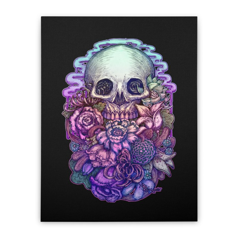 Dead and Dry flowers Home Stretched Canvas by villainmazk's Artist Shop