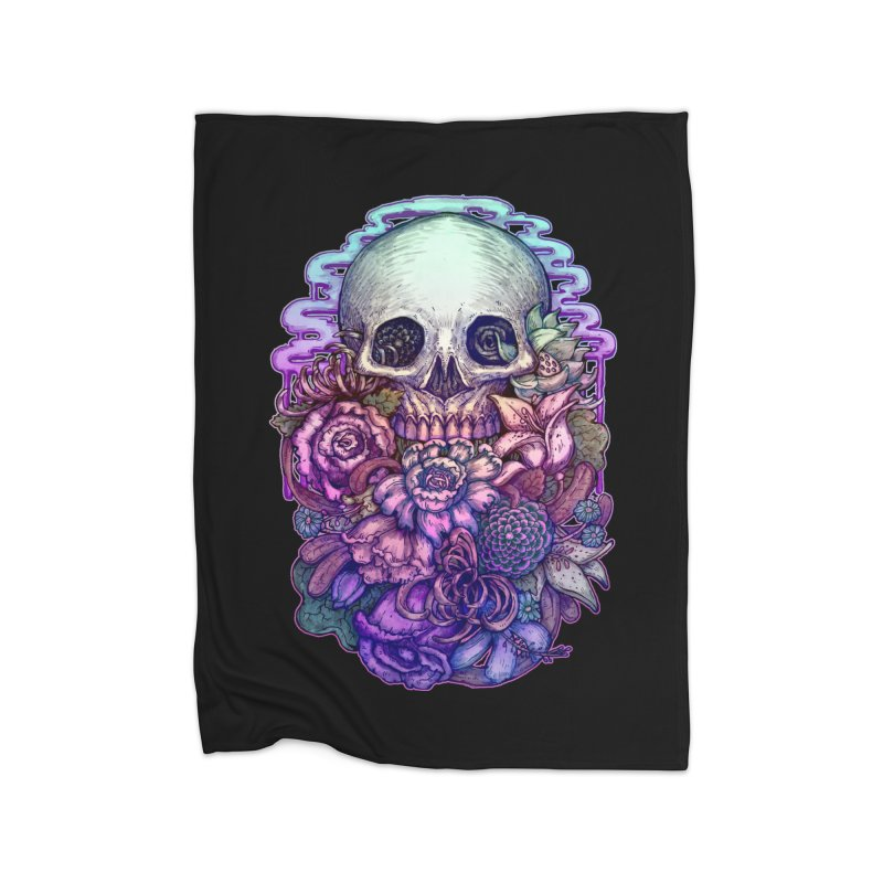Dead and Dry flowers Home Blanket by villainmazk's Artist Shop