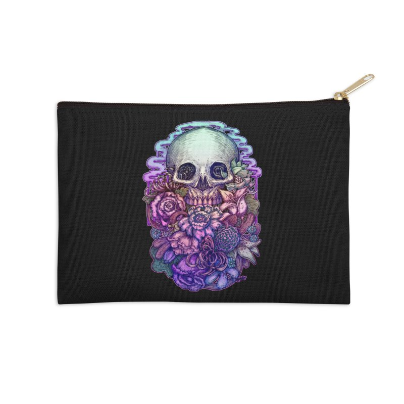 Dead and Dry flowers Accessories Zip Pouch by villainmazk's Artist Shop
