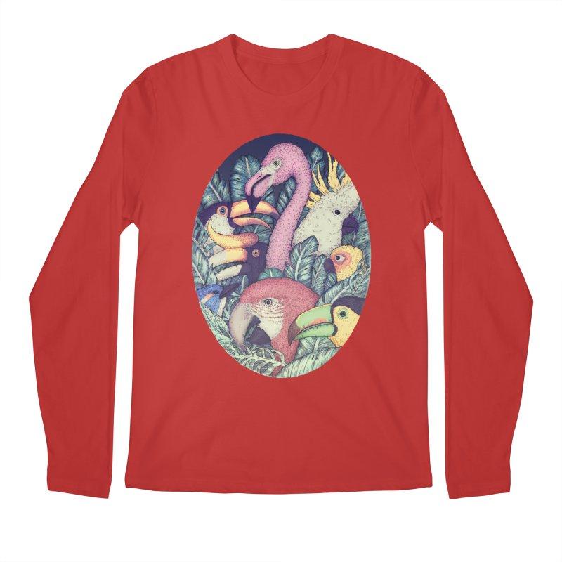 The Jungle Birds Men's Longsleeve T-Shirt by villainmazk's Artist Shop