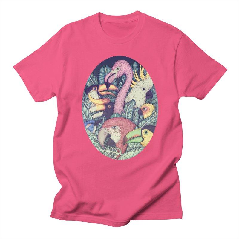 The Jungle Birds Men's T-shirt by villainmazk's Artist Shop