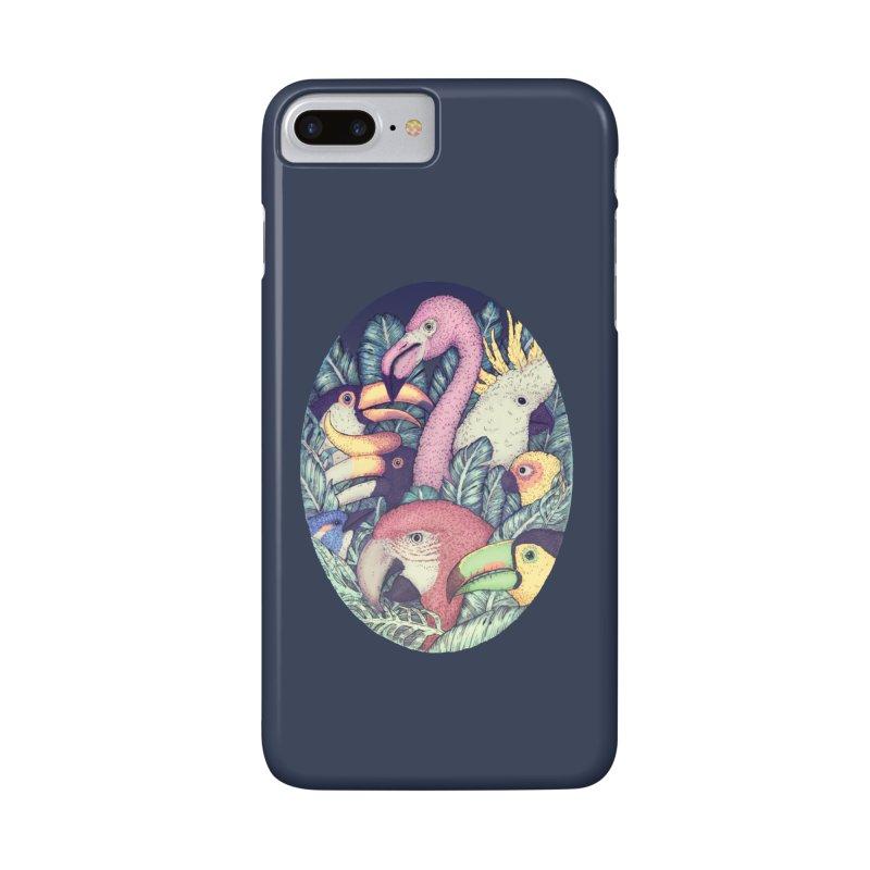 The Jungle Birds Accessories Phone Case by villainmazk's Artist Shop
