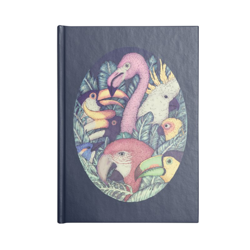 The Jungle Birds Accessories Notebook by villainmazk's Artist Shop