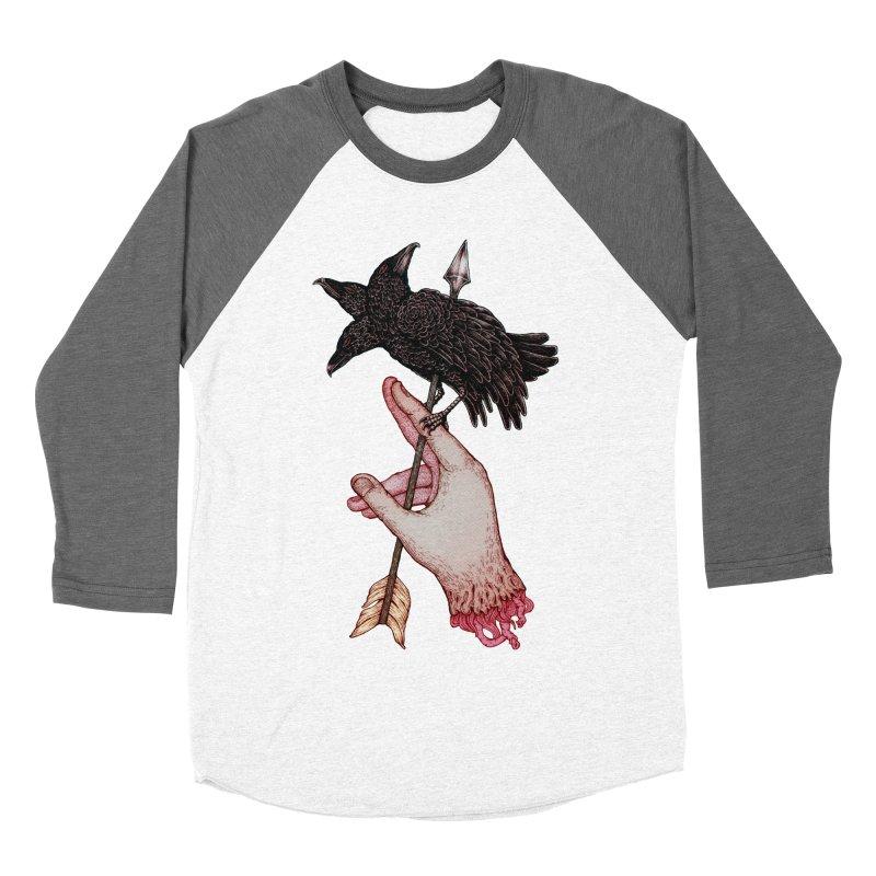 Three Times Unlucky Men's Baseball Triblend T-Shirt by villainmazk's Artist Shop