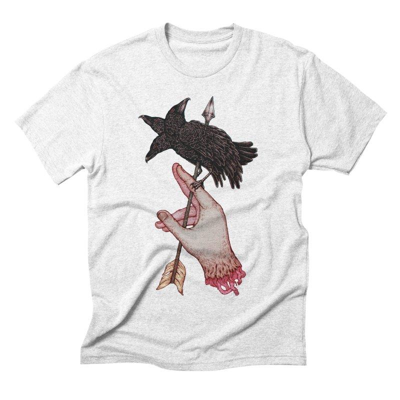 Three Times Unlucky Men's Triblend T-shirt by villainmazk's Artist Shop