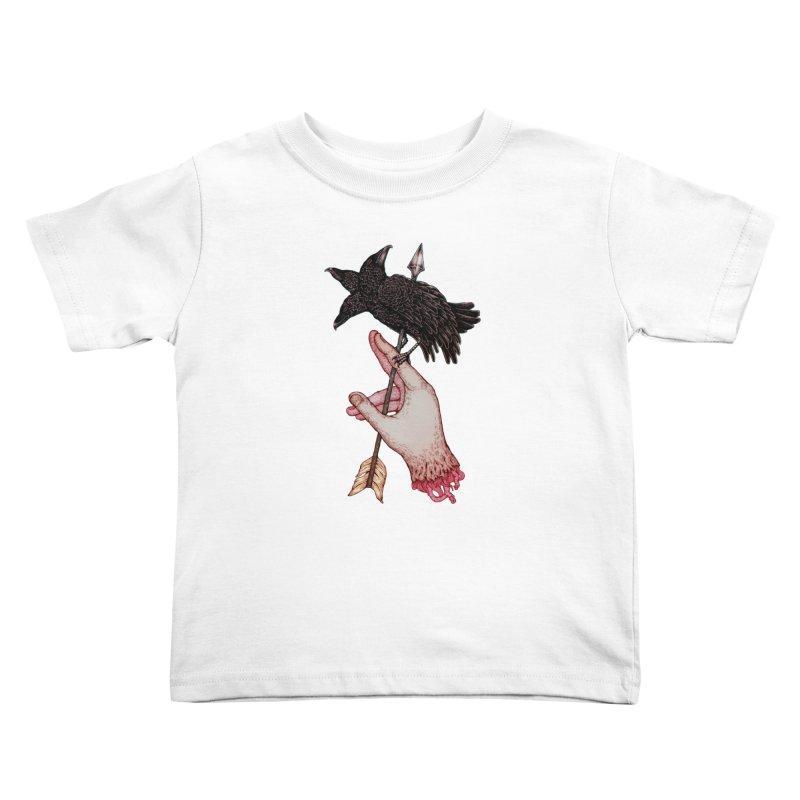 Three Times Unlucky Kids Toddler T-Shirt by villainmazk's Artist Shop