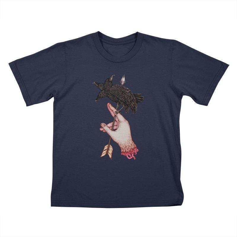 Three Times Unlucky Kids T-Shirt by villainmazk's Artist Shop