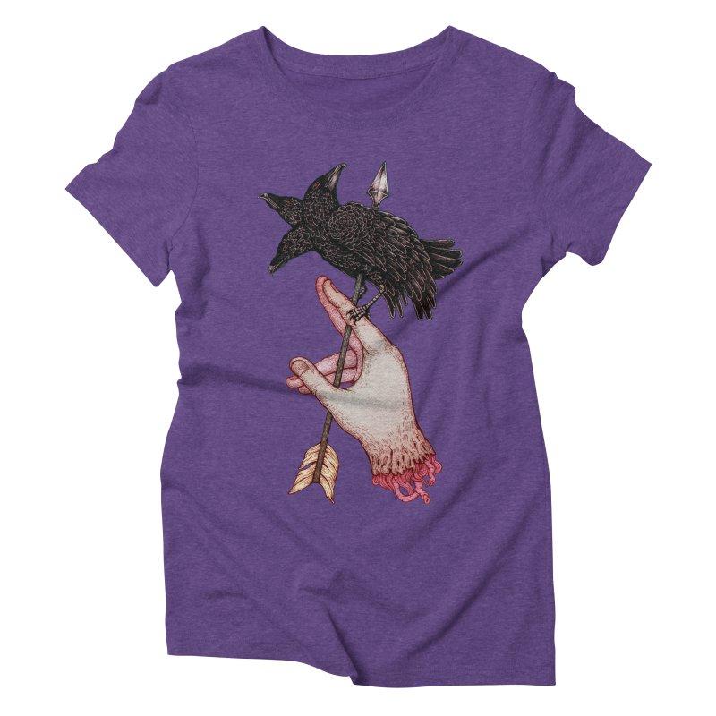 Three Times Unlucky Women's Triblend T-shirt by villainmazk's Artist Shop