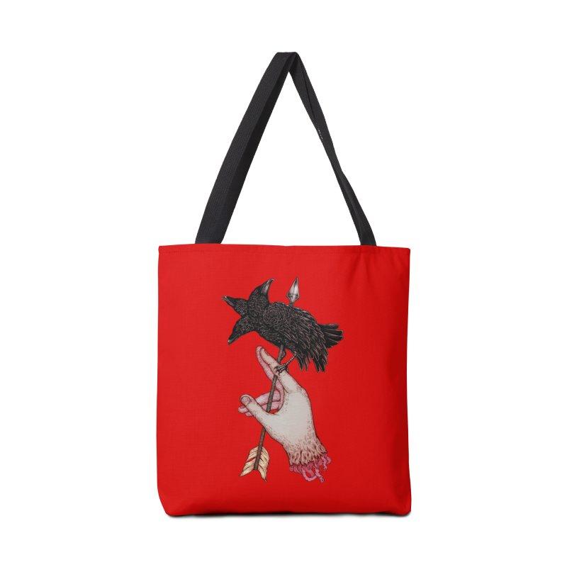 Three Times Unlucky Accessories Bag by villainmazk's Artist Shop