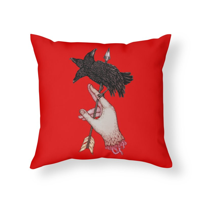 Three Times Unlucky Home Throw Pillow by villainmazk's Artist Shop