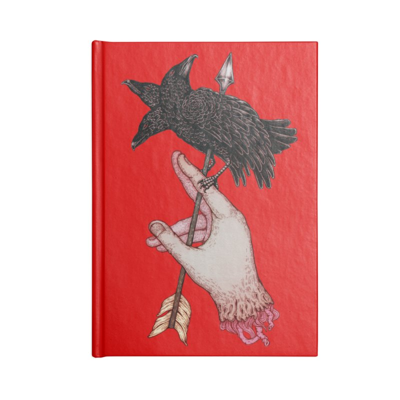 Three Times Unlucky Accessories Notebook by villainmazk's Artist Shop