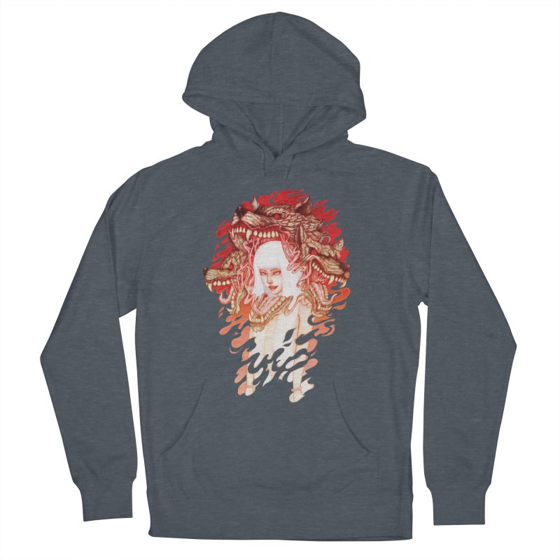 GUARDIAN OF THE HELL GATE Women's Pullover Hoody by villainmazk's Artist Shop