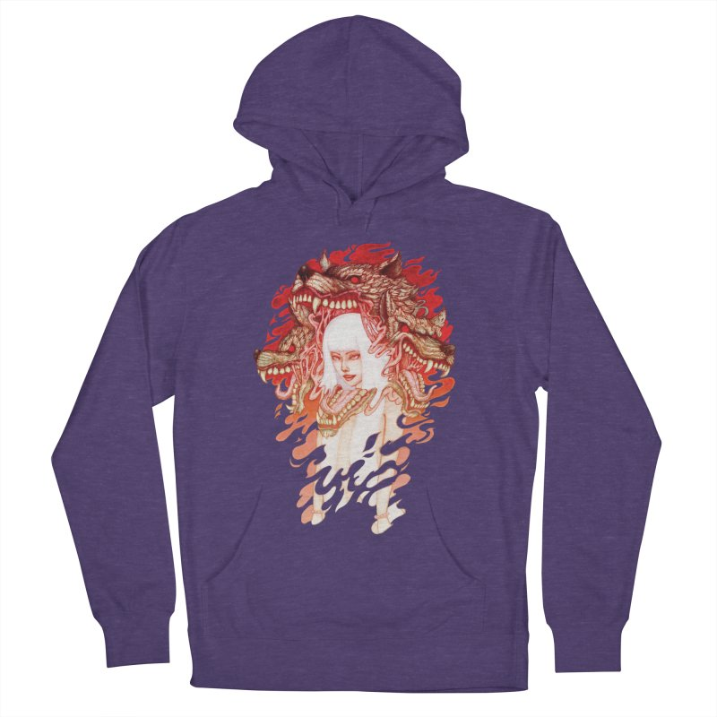 GUARDIAN OF THE HELL GATE Men's Pullover Hoody by villainmazk's Artist Shop