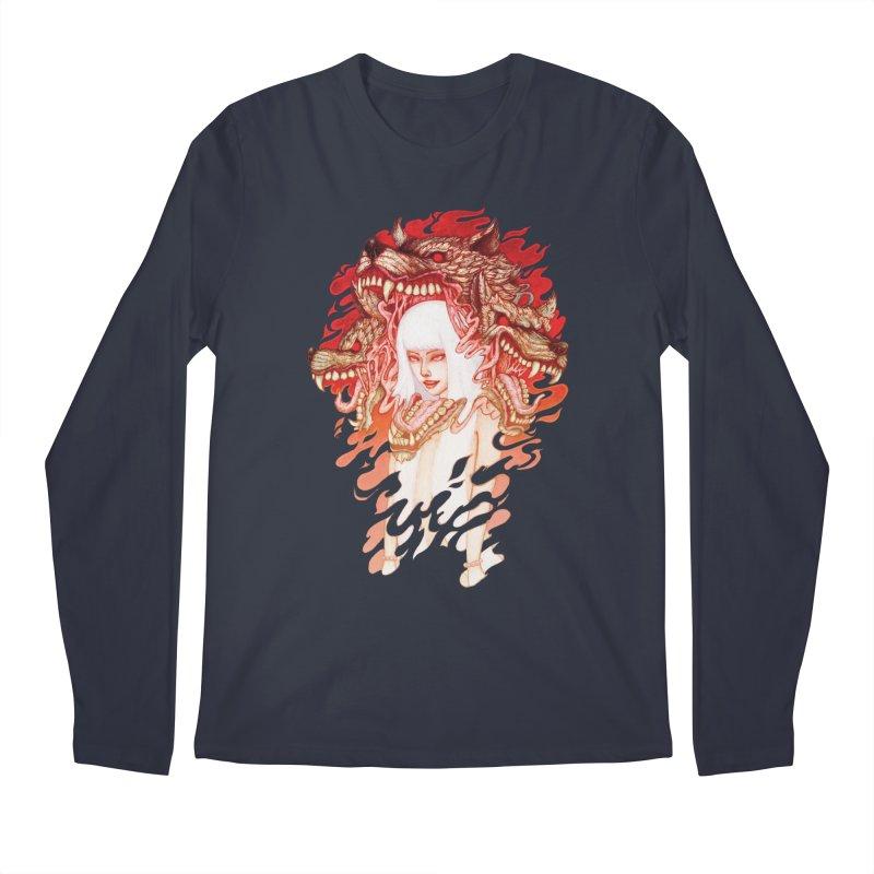 GUARDIAN OF THE HELL GATE Men's Longsleeve T-Shirt by villainmazk's Artist Shop