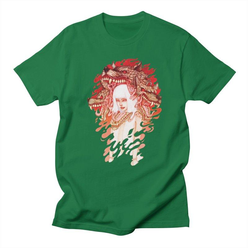 GUARDIAN OF THE HELL GATE Men's T-shirt by villainmazk's Artist Shop