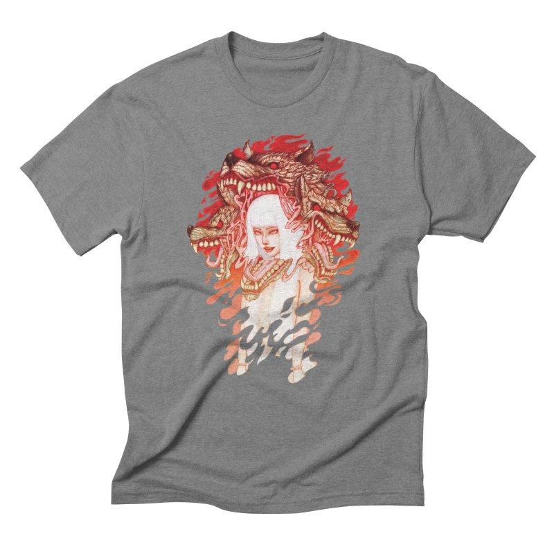 GUARDIAN OF THE HELL GATE Men's Triblend T-Shirt by villainmazk's Artist Shop