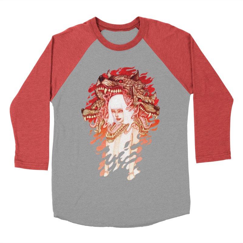 GUARDIAN OF THE HELL GATE Women's Baseball Triblend T-Shirt by villainmazk's Artist Shop