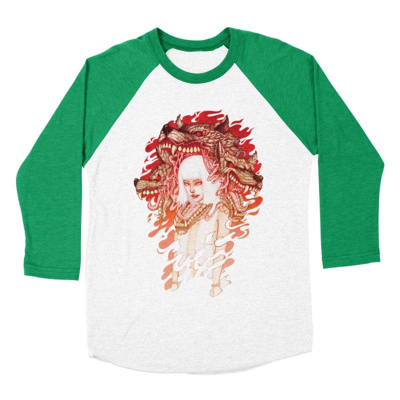 GUARDIAN OF THE HELL GATE Men's Baseball Triblend T-Shirt by villainmazk's Artist Shop