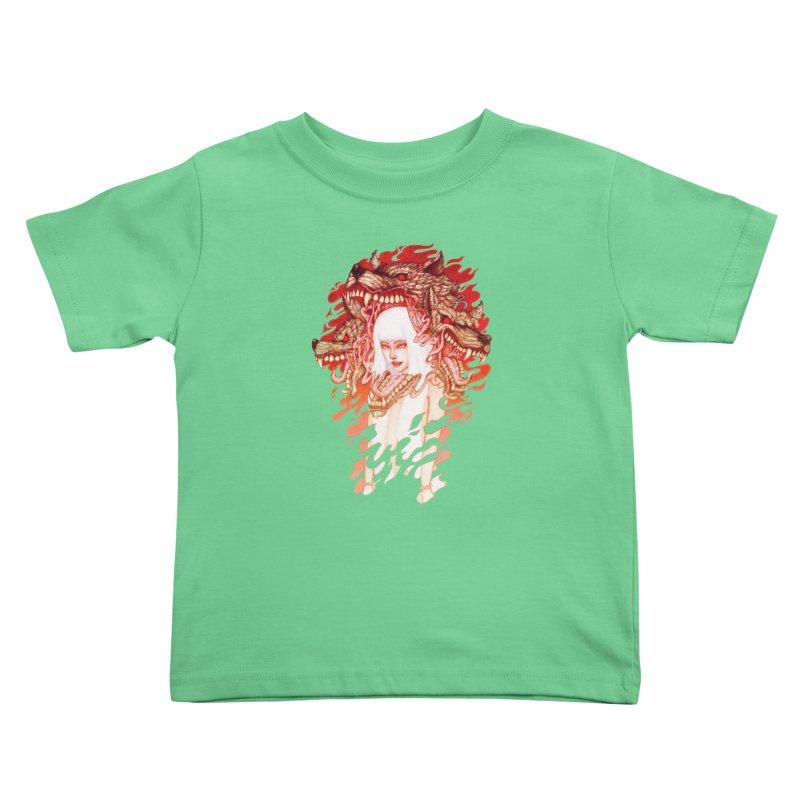 GUARDIAN OF THE HELL GATE Kids Toddler T-Shirt by villainmazk's Artist Shop