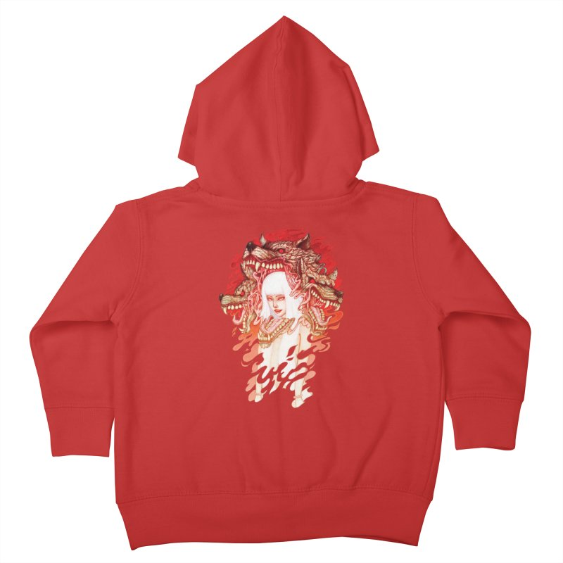 GUARDIAN OF THE HELL GATE Kids Toddler Zip-Up Hoody by villainmazk's Artist Shop