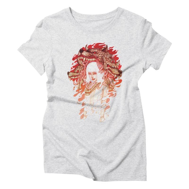 GUARDIAN OF THE HELL GATE Women's Triblend T-shirt by villainmazk's Artist Shop
