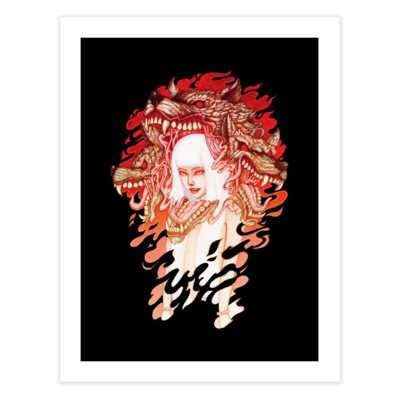 GUARDIAN OF THE HELL GATE Home Fine Art Print by villainmazk's Artist Shop