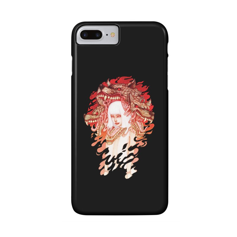 GUARDIAN OF THE HELL GATE Accessories Phone Case by villainmazk's Artist Shop