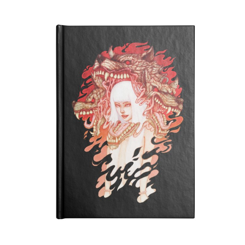 GUARDIAN OF THE HELL GATE Accessories Notebook by villainmazk's Artist Shop