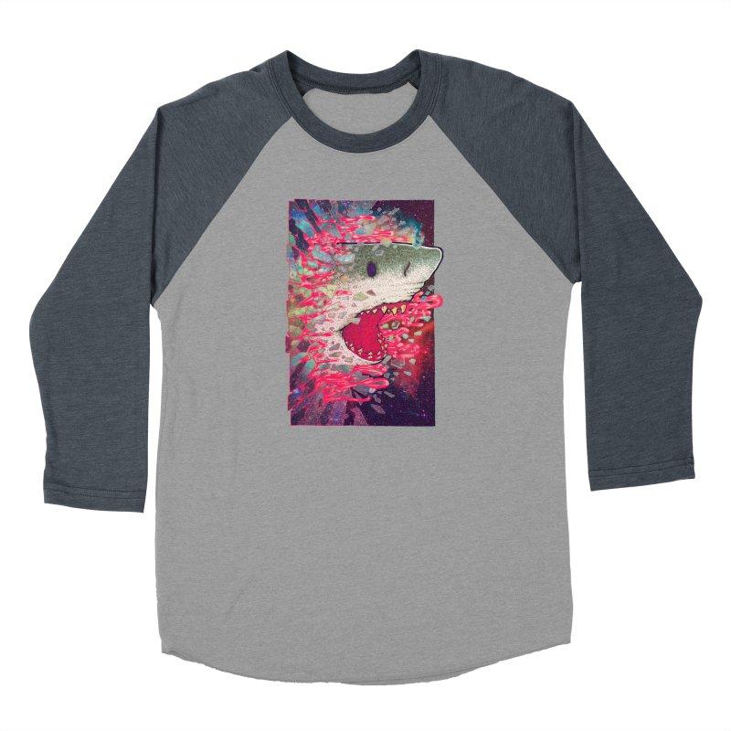SHARK FROM OUTER SPACE Women's Longsleeve T-Shirt by villainmazk's Artist Shop