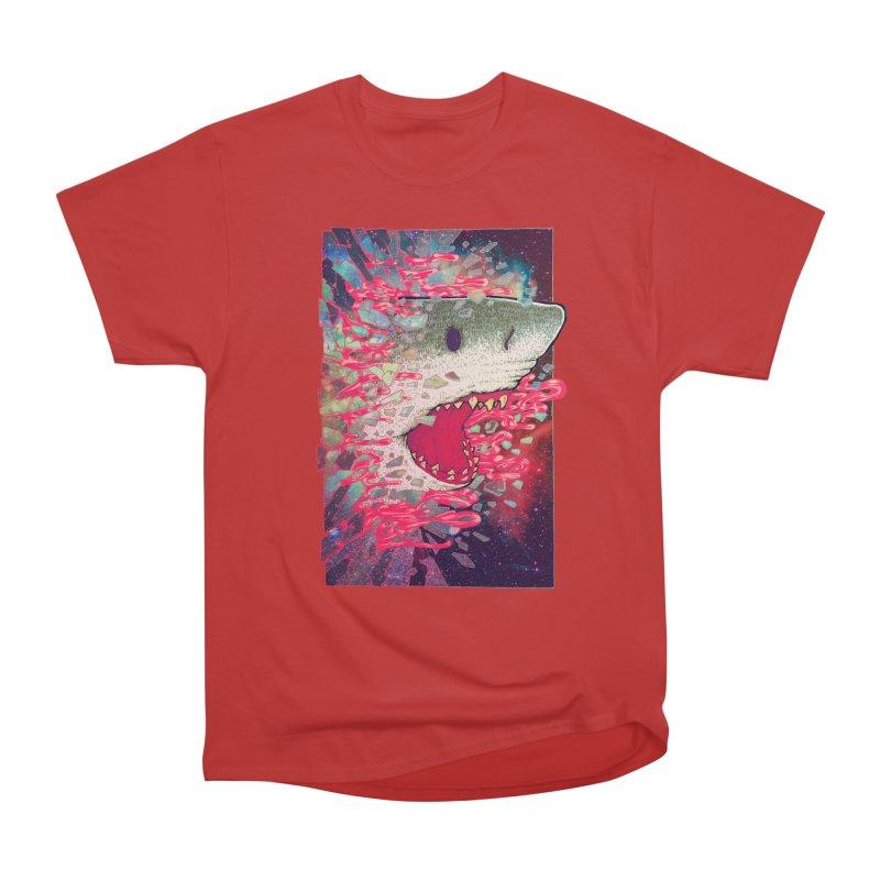 SHARK FROM OUTER SPACE Men's Classic T-Shirt by villainmazk's Artist Shop
